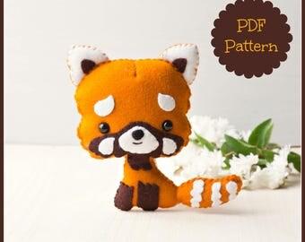 Red Panda (PDF Pattern)