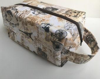 Toiletry Bag Women, Make Up Bag, Travel Bag,  Cosmetic Bag - Paris