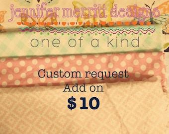 Custom Add On Design