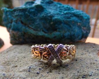 14 K Gold Ring Size 10.5  FREE SHIPPING USA