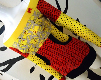Pikachu • Off Shoulder • Kangaroo Pocket Top • Small / Medium / Large / XL • Pokemon