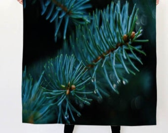 Pine Boughs Scarf