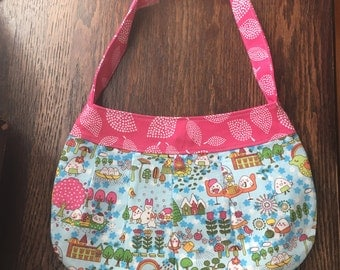 Happy Rice Kawaii Buttercup Bag Purse with strap and magnetic closure