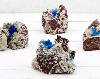 Cavansite Gemstone Cluster - The Psychic Mind Stone
