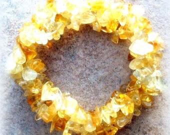 NATURAL BEAUTY ll - Beautiful citrine bracelet