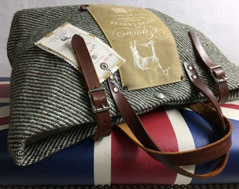 BF Equine Tweed Utility Bag