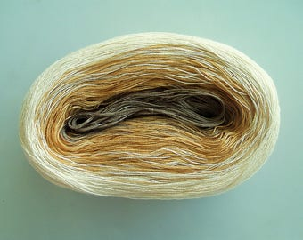 TOULOUSE II --  Color Changing Cotton yarn --  480 yards/100 gr --  Fingering Weight