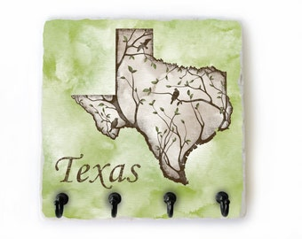 Texas Key Hook, 4 Hook Key Rack, Texas Key Rack, Key Hanger, Texas Wall Hook, Texas Hooks, Texas Key Holder (81)