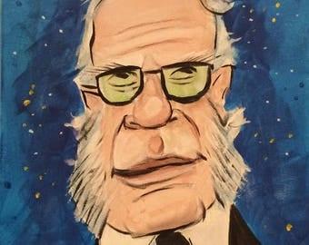 Issac Asimov (2017) by Mark Redfield