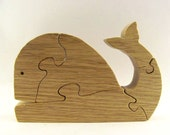Whale Wood Puzzle