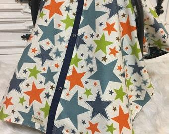 car seat cover / carseat cover /carseatcover /carseat canopy / stars / arrows
