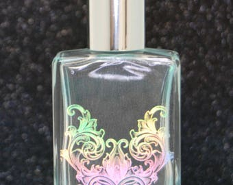 Violet Perfume Oil w/ Holographic Design