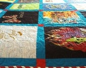 """Reserved for Jackie Davison - T-Shirt Quilts Queen Size 86"""" x 92"""" (25 T-Shirts) - DEPOSIT LISTING Payment 3 of 3"""