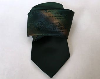 gentry wembley green and gold vintage tie - 1211062