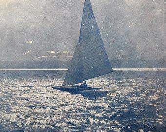 Yacht Racing Aerodynamics of Sails and Racing Tactics 1935 Nautical