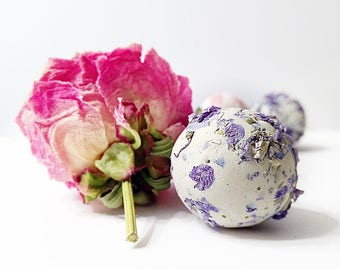 Garden Wedding Herb Botanical Seed Bombs ™, 75 Plant-able Seed Balls Gardening Gift or DIY Favors, Outood Wedding Idea