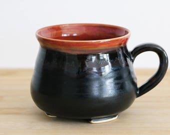 Coral Pink Potion Cauldron Mug