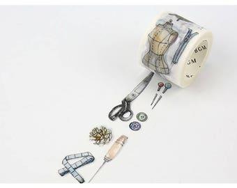 Sewing washi tape 30 mm x 7M