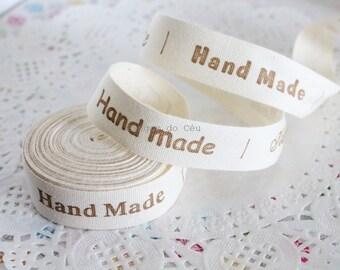 1.5 cms width - Zakka Cotton Ribbons - Handmade Label - DIY Accessory - Sewing Ribbon - Ready to Ship
