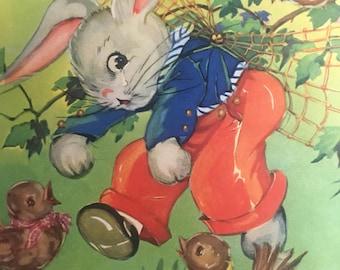 Peter rabbit digital image kids room art
