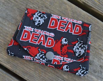 The Walking Dead grab-n-go credit card wallet