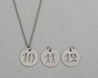 10, 11 or 12 Necklace