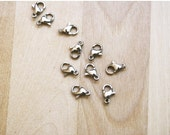 MOVING SALE 10 Stainless Steel Lobster Clasps 10x6mm [CLASP5009]