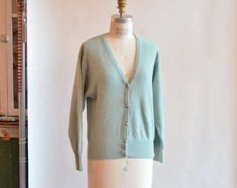 40% OFF / 3 days only / Vintage BENETTON lambswool and ANGORA cardigan