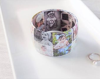 Best Mother's Day Gift - Mother's Day Jewelry - Personalized Photo Bracelet - Mother's Day Gift for Grandma - Photo Jewelry - Gift for Mom