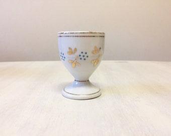Vintage egg cup, china egg cup, vintage Easter gift, retro kitchen, egg holder, retro egg cup, vintage breakfast, porcelain egg cup, retro