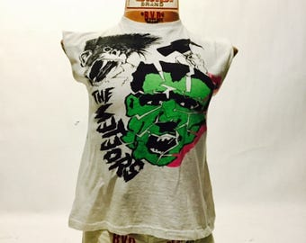 Vintage The Meteors Lost Album Tee Shirt 80's (os-ts-86)