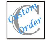RESERVED - Custom Listing for VanessaKate