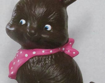Ceramic Chocolate Easter Bunny