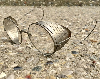 Vintage Steampunk Metal Safety Glasses
