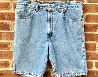 Vintage Men's Levi's 505 Jean Shorts - US - 34 Waist