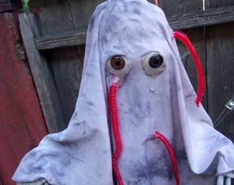 Worm-ridden Ghost - Original Hanging Halloween Decoration