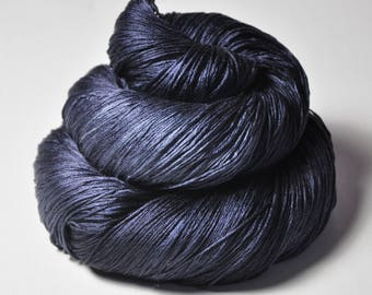 Drowning in the deep blue sea -  Silk Lace Yarn