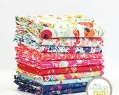 "Abloom Fusion - Fat Quarter  Bundle - 10 - 18""x21"" Cuts - Art Gallery Quilt Fabric"