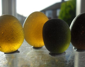 Beautiful Seaham English Sea Glass- Free Shipping (4970)