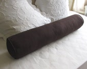 8x54  bolster pillow daybed size includes insert, brown