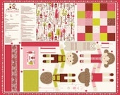 Hansel & Gretel Dolls and Accessories Panel and/or DIY Kit by Stacy Iset Hsu for Moda, 1 Panel