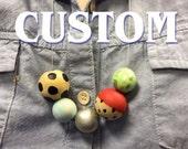Custom for Grosenm: 3 necklaces