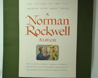 1955 The Saturday Evening Post A Norman Rockwell Album.