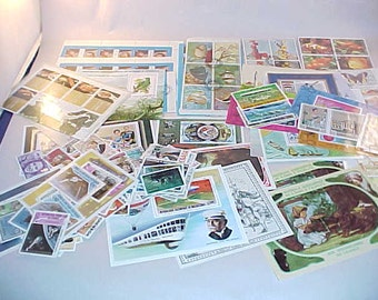 150+ Postage Stamps From Around The World