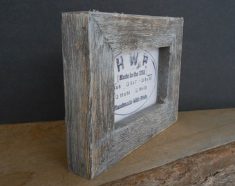 Thick Rustic Barn Wood Barn Board Picture Frames Western Style Decor