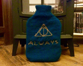 Ravenclaw Deathly Hallows Hot Water Bottle - Harry Potter