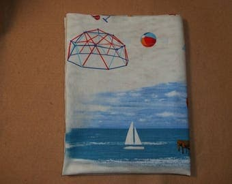 Summer/beach    theme travel  size or toddler size pillow case