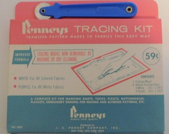 Vintage Penneys Tracing Kit
