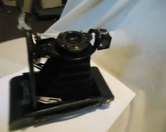 Vintage  Kodak Brownie Autographic Model 2A Folding Camera, collectable, Display Only, USA
