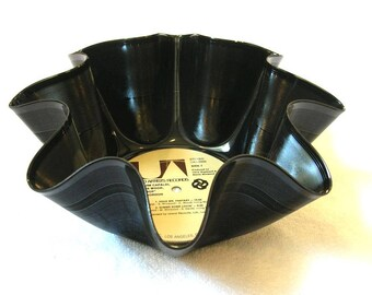 Traffic Band Record Bowl Made From Recycled Vinyl Album - Steve Winwood